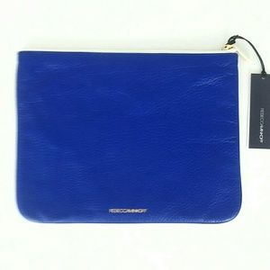 REBECCA MINKOFF 'KERRY' POUCH MONOGRAMMED 'LC' NWT